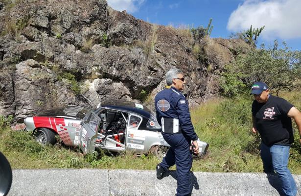 Van cuatro accidentes de la tercera carrera Panamericana, en Oaxaca