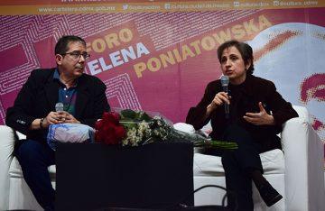 Se debe frenar la xenofobia contra la caravana de migrantes: Aristegui y Villamil
