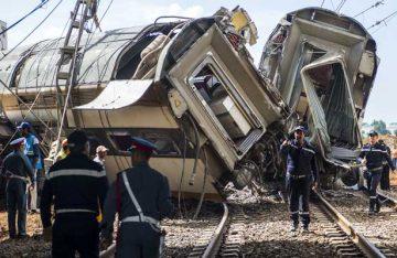 Descarrila tren en Marruecos y deja al menos 7 muertos