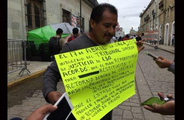 Desplazados de Santiago Progreso piden se cumpla el regreso a su lugar de origen