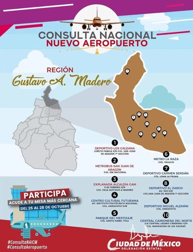 Consulta de MORENA sobre nuevo aeropuerto… ¡Es un fraude!