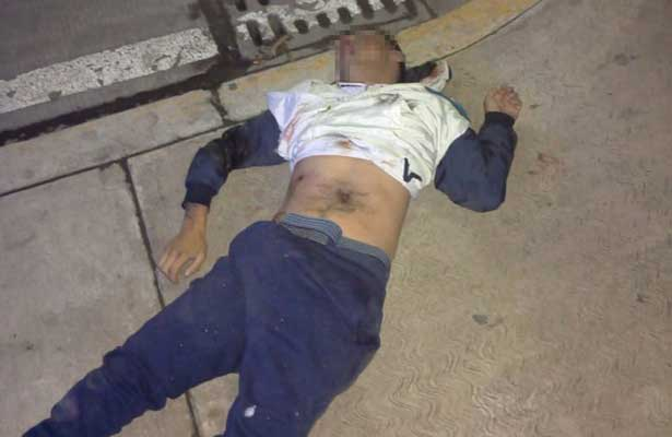 Balea justiciero anónimo a un presunto ladrón en Coacalco