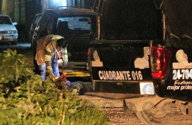 Ejecutado a sangre fría en Ecatepec