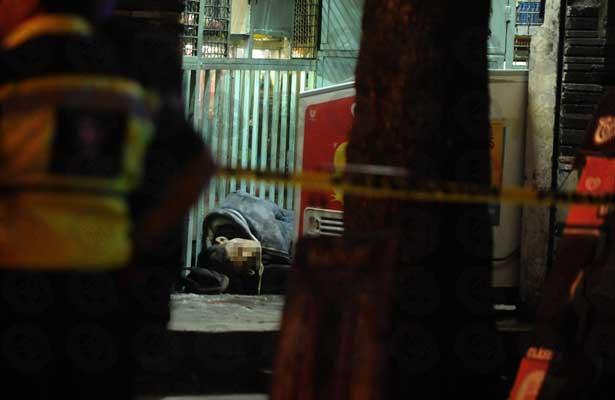 Balacera en Legaria dejó dos muertos