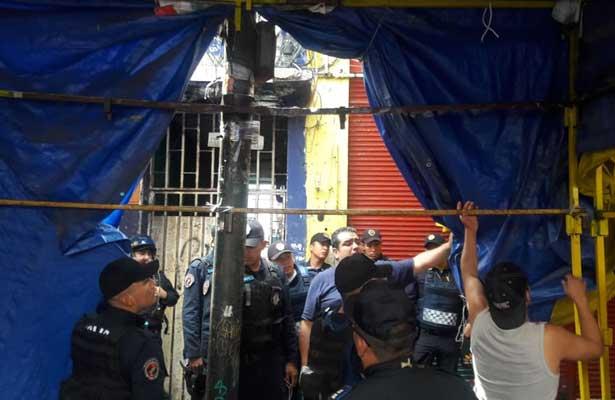 Ejecutado al interior de una vecindad en el Barrio Bravo de Tepito