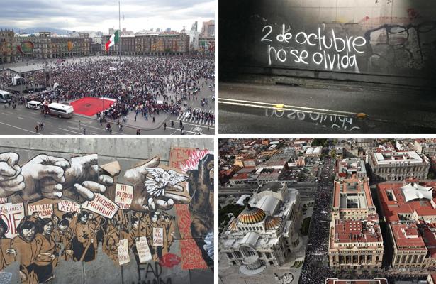 [Video] Miles participan en la marcha del 2 de octubre