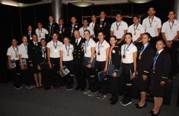Reconoce Semar a atletas que participaron en los JCC Barranquilla 2018