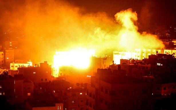 Israel bombardea Gaza tras lanzamiento de cohetes palestinos