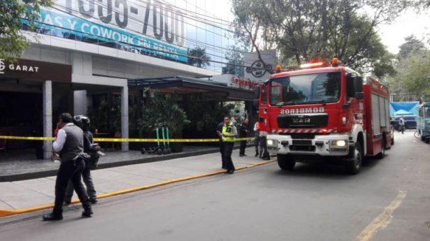 Explosión en restaurante de Lomas de Chapultepec deja dos lesionados