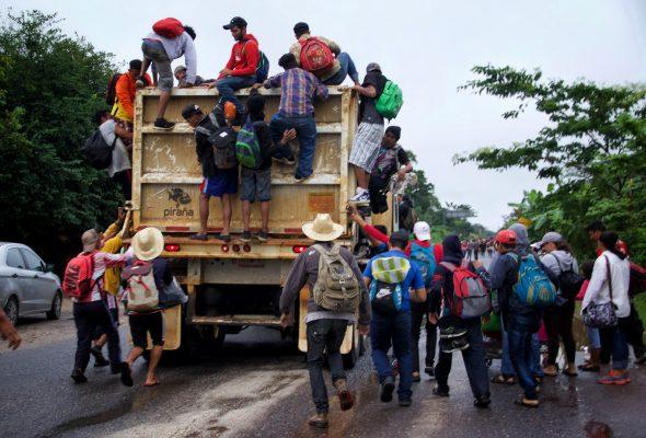 Más de 3 mil centroamericanos han solicitado refugio en México