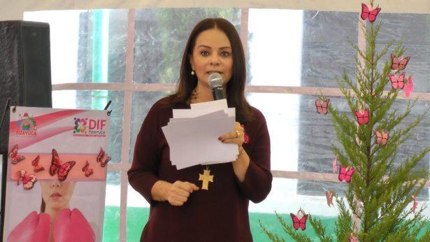 Encabeza Nuvia Mayorga apoyo a mujeres para detectar cáncer de mama