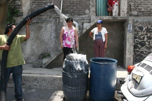 Día 1 del corte de agua en la Ciudad de México