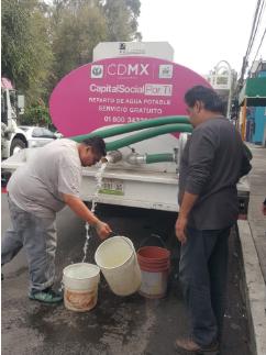 Transcurre con tranquilidad el abastecimiento de agua en CDMX