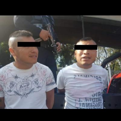 Gemelos malvados asaltaban en Tacuba (Video)