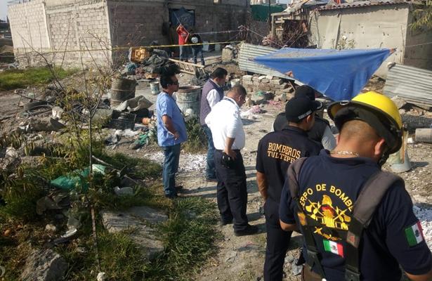 Explosión en Tultepec deja dos muertos