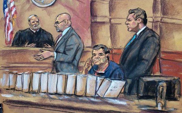 El Chapo pide abrazar a Emma Coronel antes de iniciar su juicio