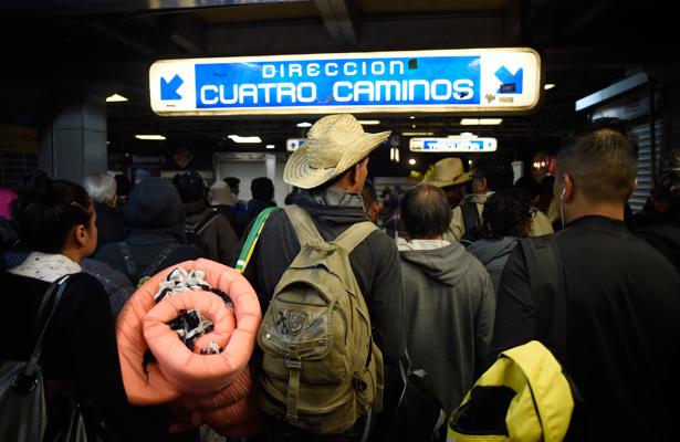 Caravana migrante se fragmenta