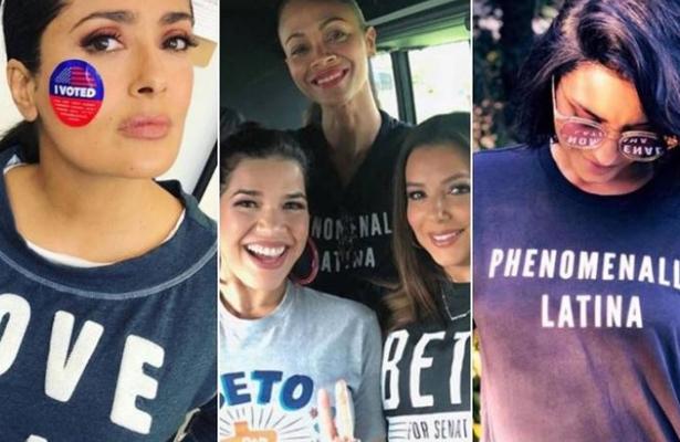 Famosos latinos promueven el voto estadounidense