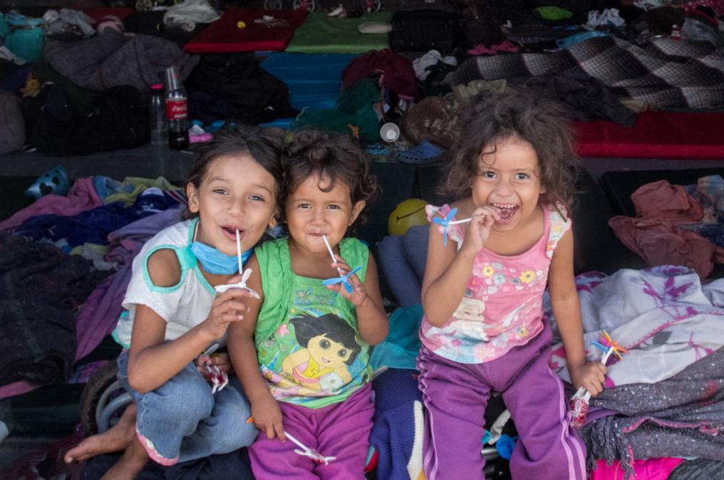 UNICEF brinda apoyo psicosocial a infantes y adolescente de caravana