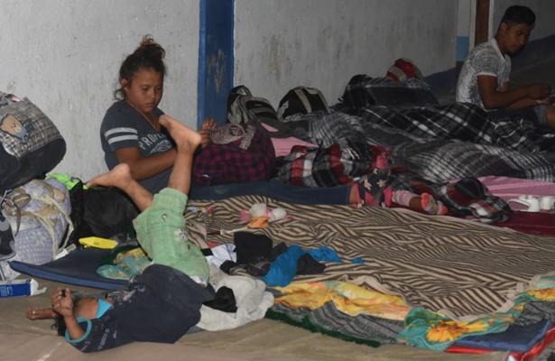 Arriba primer contingente de la caravana migrante a Irapuato