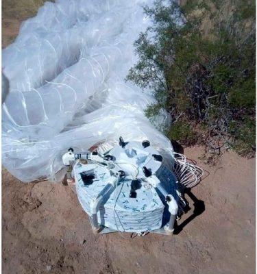 Confunden globo de mapeo con Ovni en Sonora
