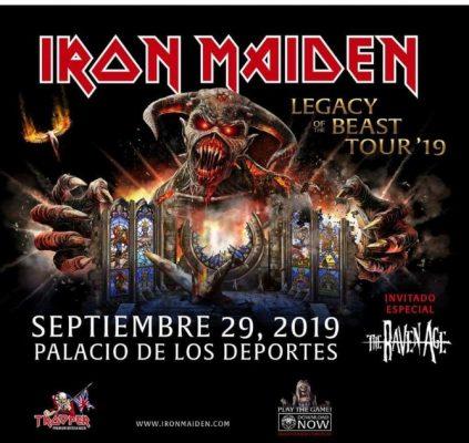 Iron Maiden anuncia concierto en México