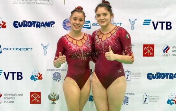 Mexicanas hacen historia y ganan el bronce en gimnasia de trampolín