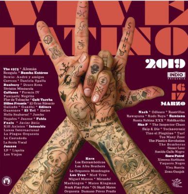 Revelan line-up del Vive Latino 2019