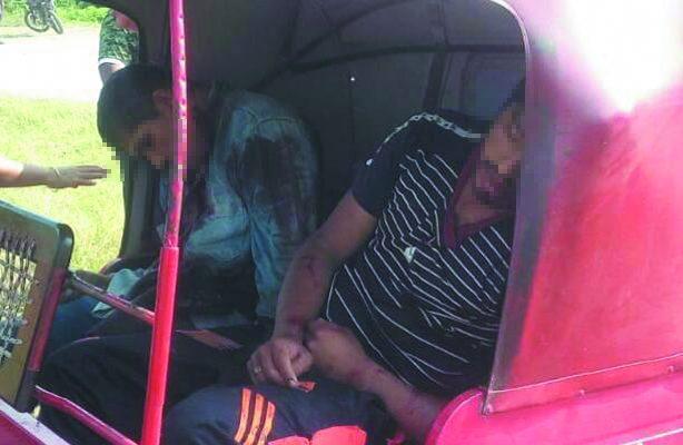 Ejecutaron a tres a bordo de un mototaxi en Juchitán