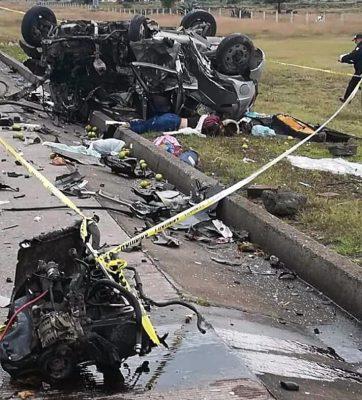 Accidente en carretera de Hidalgo deja cuatro muertos
