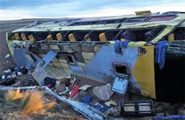 Al menos 17 muertos en accidente de carretera al sudeste de Perú