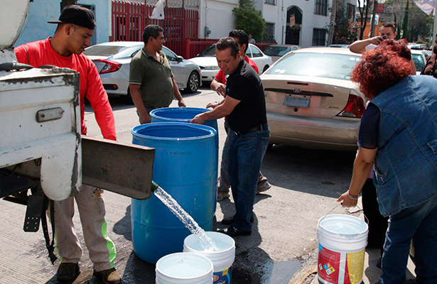 Continúa Operativo de Abastecimiento en Alcaldía Cuauhtémoc