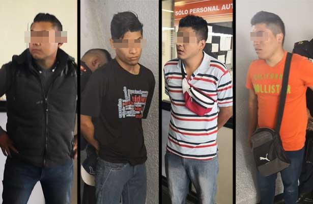 Atoran A Cinco Presuntos Rateros En El Metro Chabacano