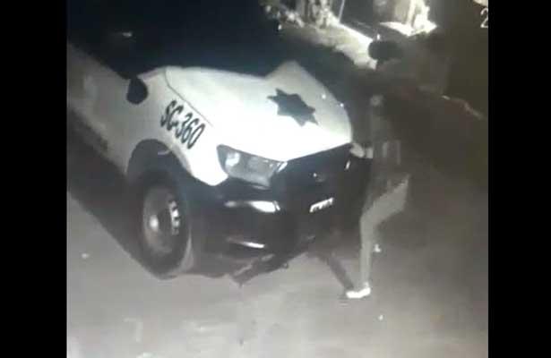Asesinan a policía municipal de Tultitlán a bordo de su patrulla [VIDEO]