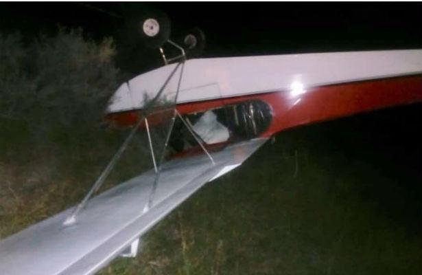 Cae avioneta pilotada por ex alcalde de Rioverde, SLP