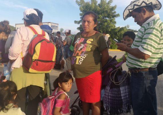 Nace la primera bebé de la Caravana Migrante