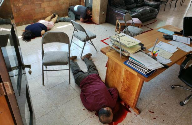 Recuperaban familiar asesinado y los ultiman a tiros en Semefo de Chilpancingo