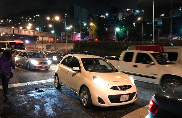 Se restablece circulación de la carretera México-Pachuca