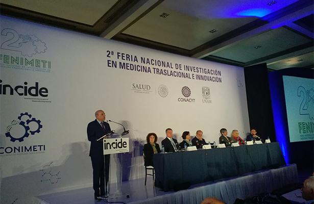 Inicia 2ª Feria Nacional de Investigación en Medicina Traslacional e Innovación
