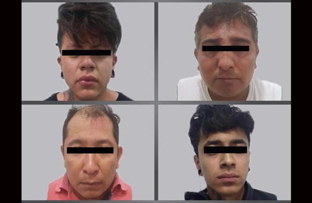 Detiene FGJEM a cuatro presuntos secuestradores en el Edomex