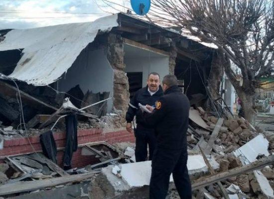 Explosión acaba con vivienda en Ciudad Juárez