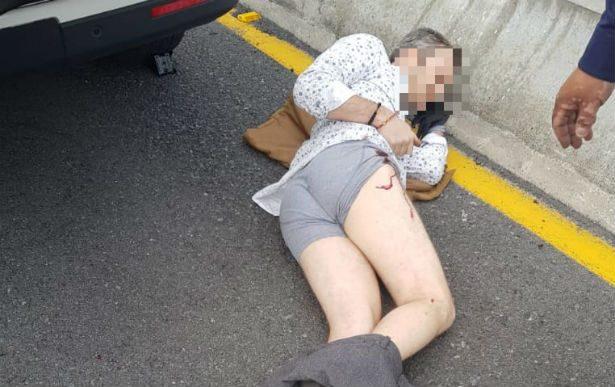 Resulta herido ciudadano israelí durante asalto