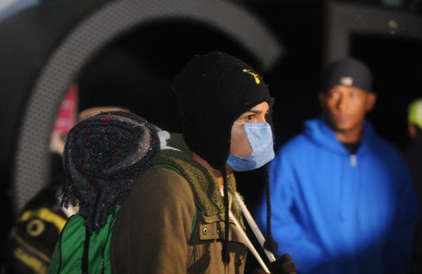 Anuncian migrantes que mañana abandonan la Ciudad de México