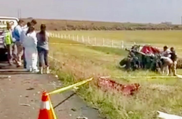 Lo impacta tráiler y lo mata en la carretera de Morelia-Salamanca