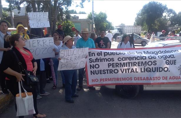 Habitantes del municipio de La Paz bloquean la México-Texcoco