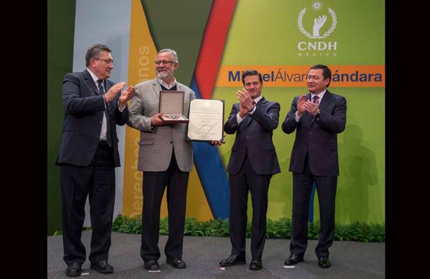Convoca CNDH a candidaturas al premio nacional de derechos humanos 2018