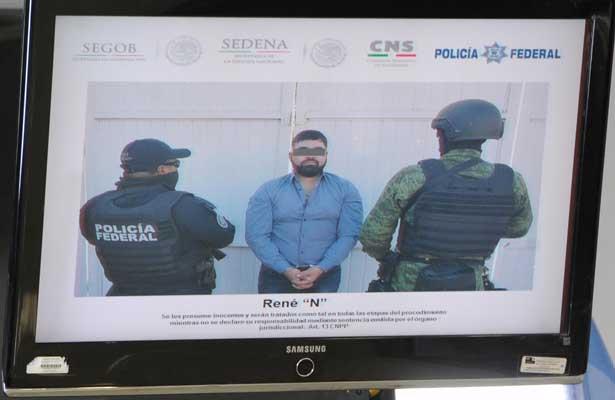 """Confirman detención de  René Gerardo """"N"""" alías """"El 300"""", líder de Los Aztecas"""