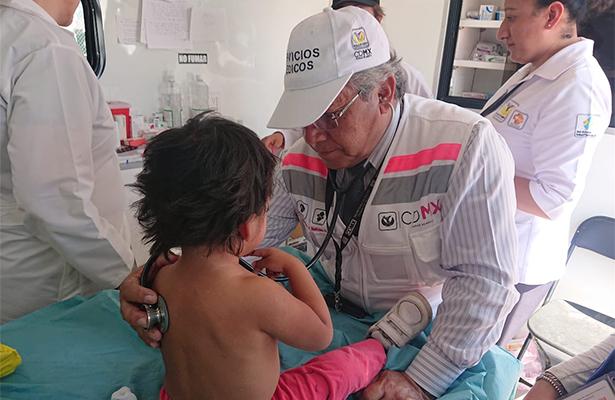 Atiende salud de la CDMX a más de mil migrantes