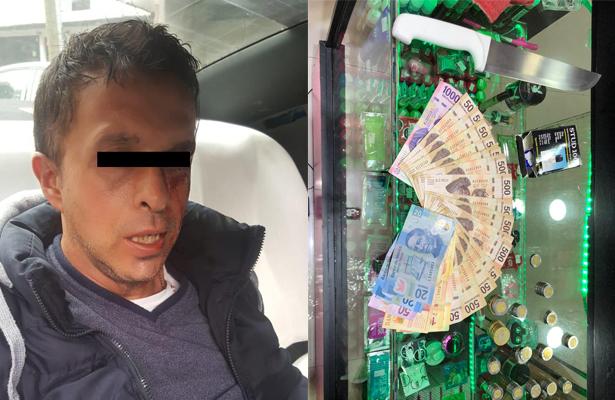"""Le pegó"" a la  sex shop pero solo se clavó el dinero"