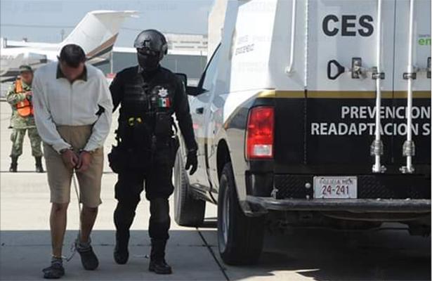 Trasladan a 109 ppl, de centros penitenciarios del Edoméx, a penales federales